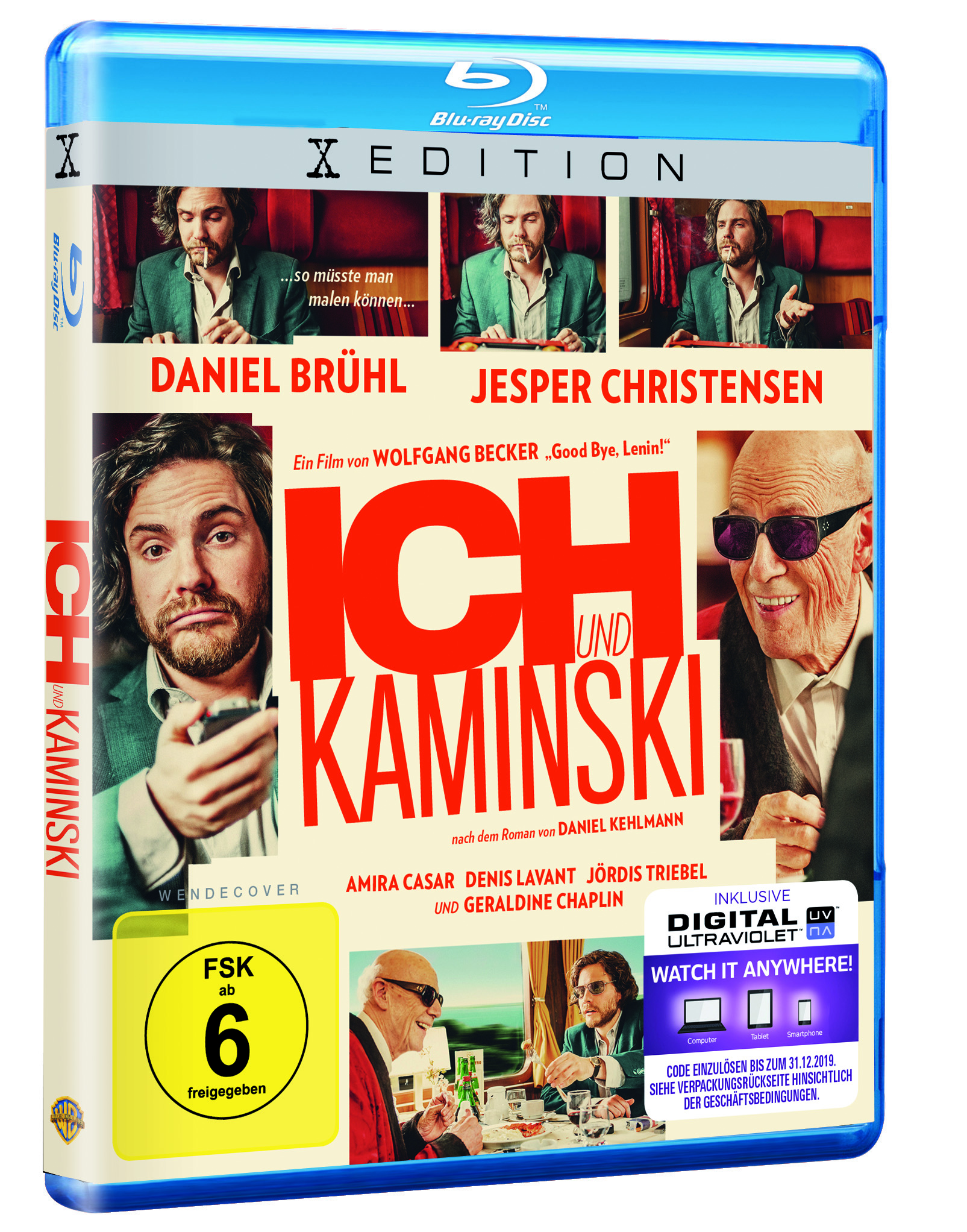 DVD + BLU-RAY + VIDEO ON DEMAND: ICH UND KAMINSKI