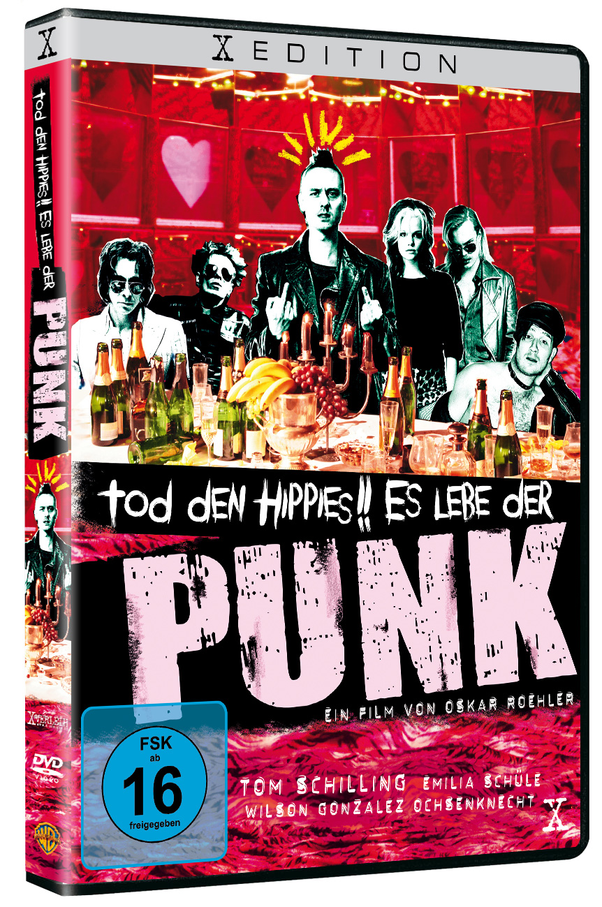 DVD + VIDEO ON DEMAND: TOD DEN HIPPIES!! ES LEBE DER PUNK